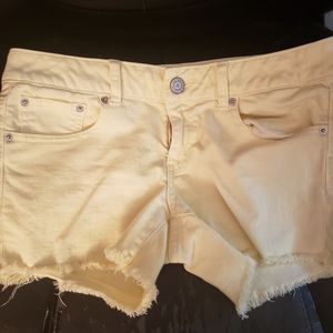 American Eagle pastel jeans shorts 8